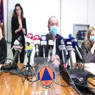 """Covid, Zaia: """"Veneto a rischio zona rossa. Ho chiesto al governo la chiusura di tutte le scuole"""""""