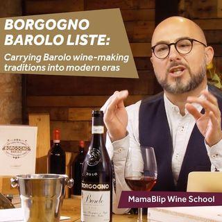 Discovering Barolo | Borgogno Barolo Liste | Wine Tasting with Filippo Bartolotta
