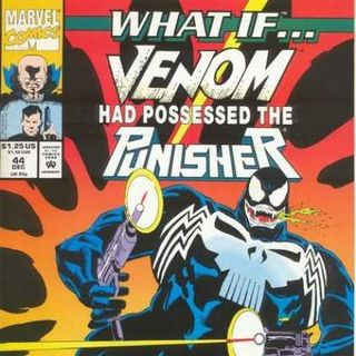 Source Material #134 What If Venom Had Possessed The Punisher (Marvel,1992)