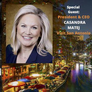 U.S. Tourism Leader Casandra Matej is Positive About Cinderella Comeback for Travel