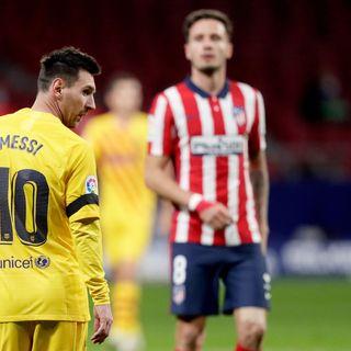 Como mire la derrota del fc barcelona contra el atletico
