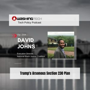 David Johns on Trump's Arsonous Section 230 Plan to Roast Black Voices