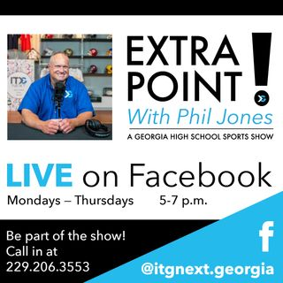 Extra Point With Phil Jones 7.29.20 Featuring Dr. Robin Hines GHSA Executive Director  and South Georgia Coaches