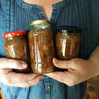 Apple  and Pumpkin  Chutney