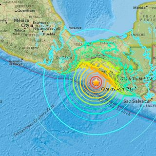 Sorprende sismo en México