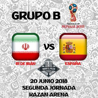 RI de Irán vs España en VIVO