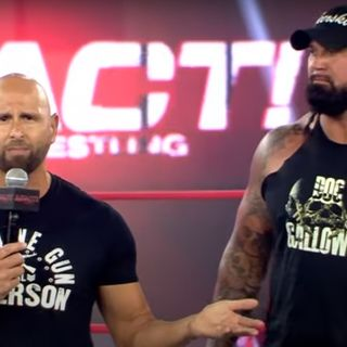 On the Mat: Guest The Good Brothers Doc Gallows, Karl Anderson, and Rocky Romero