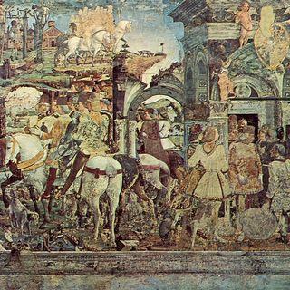 25 marzo 1470. Francesco Del Cossa scrive a Borso d'Este