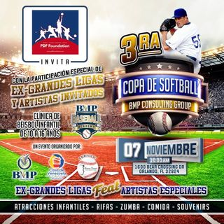 3ra Copa de Béisbol Fundación Giovanni Carrara