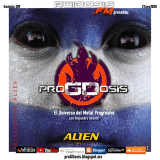 """proGDosis 209 - 21nov2020 - OVNI """"Alien""""    (El Salvador)"""
