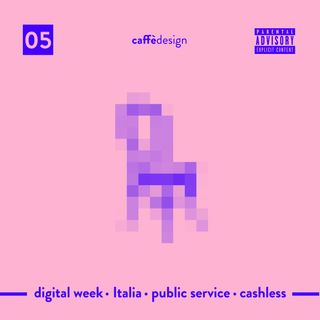 05 - Digital week  · Italia · Public service · cashless