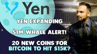First Half of 2019 - DONE - Time for BITCOIN MOON ROCKET! YEN Growing 20 NEW COINS #WHALE