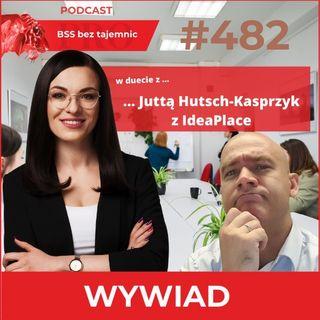 #482 O idealnym coworkingu we Wrocławiu w duecie z Juttą Hutsch-Kasprzyk z IdeaPlace