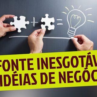A FONTE INESGOTÁVEL DE IDÉIAS DE NEGÓCIOS