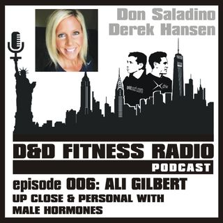 D&D Fitness Radio Podcast - Episode 006 - Ali Gilbert: Up Close and Personal with Male Hormones