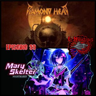 Nautilus 99: The Coffin Train, Cáncer de Dave Mustaine & Mary Skelter Nightmares