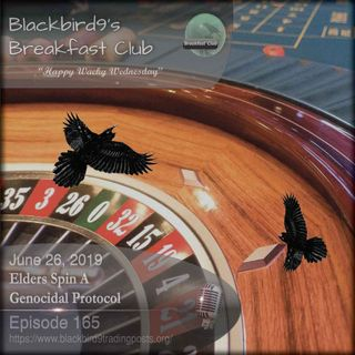 Elders Spin A Genocidal Protocol - Blackbird9 Podcast
