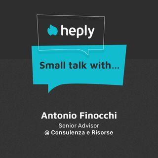 Small Talk With... Antonio Finocchi: come aiutare le imprese al giorno d'oggi