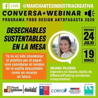 Desechables sustentables en la mesa | Food Design DISÉÑALA #10