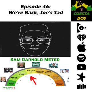 46. We're Back, Joe's Sad