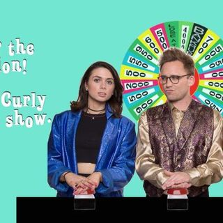Answer the question! Short & Curly the game show