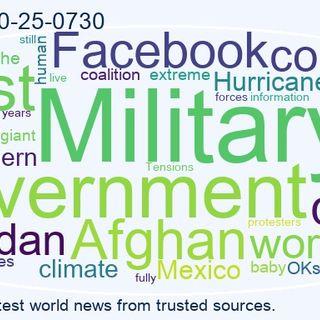 World News 2021-10-25-0730