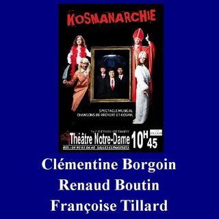 Clémentine Bourgoin, Renaud Boutin et Françoise Tillard - Entretien Off 2017