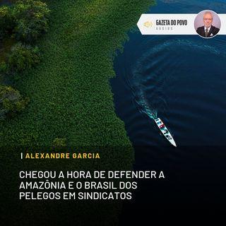 Chegou a hora de defender a Amazônia e o Brasil dos pelegos em sindicatos