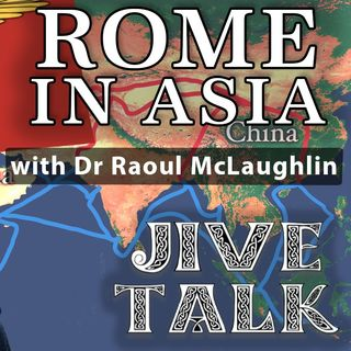 Rome's economic links with Asia with Dr Raoul Mclaughlin