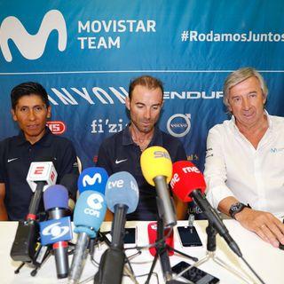 Nairo Quintana en rueda de prensa La Vuelta España 2do día de descanso