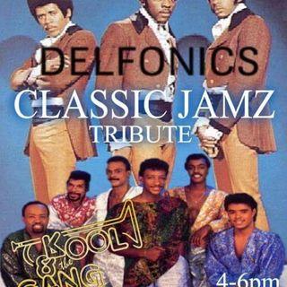 Classic Jamz *Delfonics & Kool & The Gang Tribute* 6-17-17