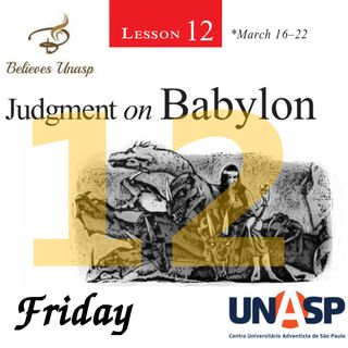Sabbath School Mar-22 Friday