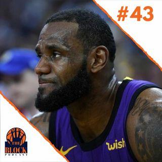 #43 - Alerta Vermelho no Lakers? E a Esperança do Wizards