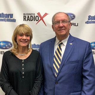 Dr. Leslie Gaskill and Jim Brooks with Evermore CID