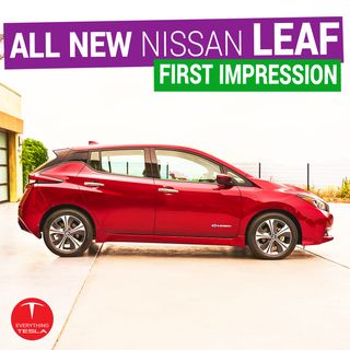 Nissan unveils the New Leaf, Calls out Tesla