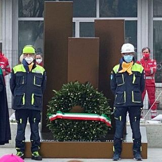 Covid: Codogno un anno dopo, inaugurato il memoriale per le vittime