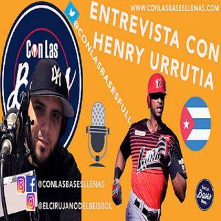 Entrevista con Henry Urrutia, jugador de los Cardenales de Lara