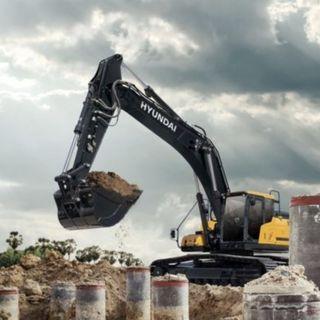 Ascolta la news sul nuovo escavatore Hyundai HX300AL