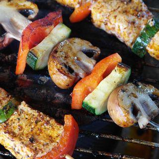 Marinade Pork Skewer Kebabs