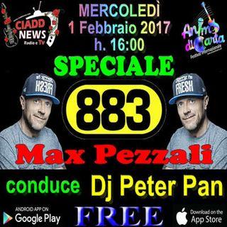 Speciale Musica - Max Pezzali & 883 - Mercoledì 1 Febbraio 2017