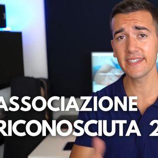 ASSOCIAZIONE RICONOSCIUTA (22) - DIRITTO PRIVATO IN 3 MINUTI #22
