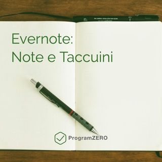 Evernote: note e taccuini