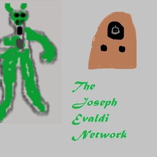Talking about the new show on The Joseph Evaldi Network Spiritus Holographica with Wolfman Joe