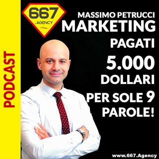 9> Copywriting: Pagati 5000 dollari per sole 9 parole