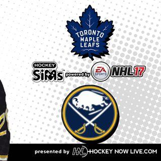 Maple Leafs vs Sabres (NHL 17 Hockey Sims)