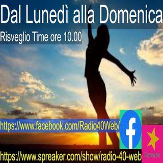 Radio 40 replay risveglio