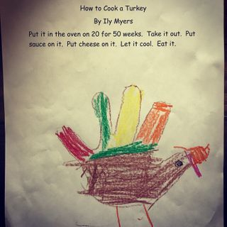 Nov. 19: Delicious turkey recipes from 5 year olds