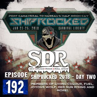 Members of Living Colour, Fuel, Joyous Wolf, Red Sun Rising and More! - Shiprocked 2018 - Day Two