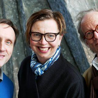 Göran Everdahl, Maja Aase och Johan Hakelius