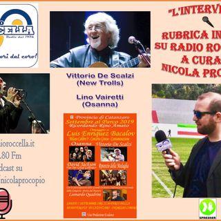 Intervista a Vittorio De Scalzi - New Trolls per 07-09-2019 CZ